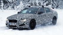 2016 Jaguar XF spied inside & out