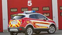 Opel Mokka emergency vehicle unveiled for RETTmobil 2015