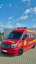 Hartman creates flashy Mercedes-Benz Sprinter used for plumbing services