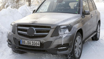 2012 Mercedes GLK spy photo 09.2.2012