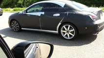 Mercedes-Benz CLA sedan spy photo 05.07.2012