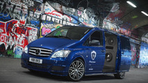 Mercedes-Benz Vito gets £25,000 worth of Pioneer stereo kit