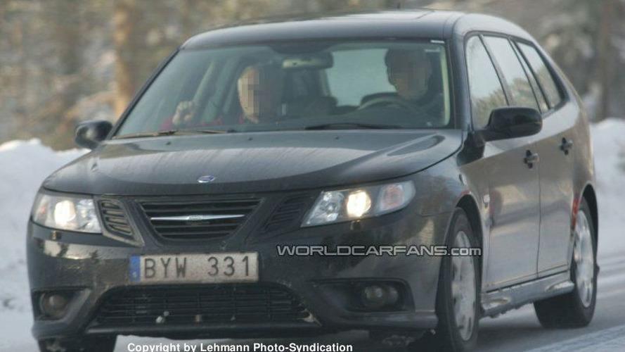 SPY PHOTOS: Saab 9-3 Restyling