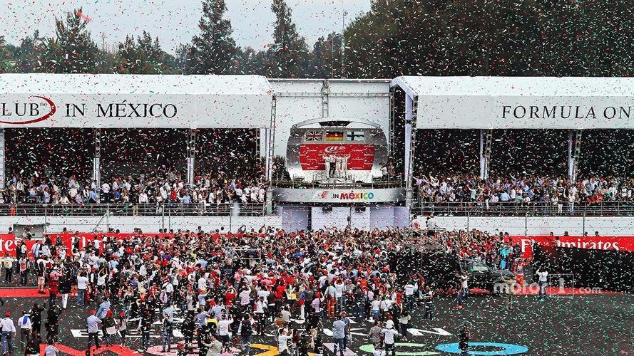 Mexican GP plans more spectacular podium celebrations