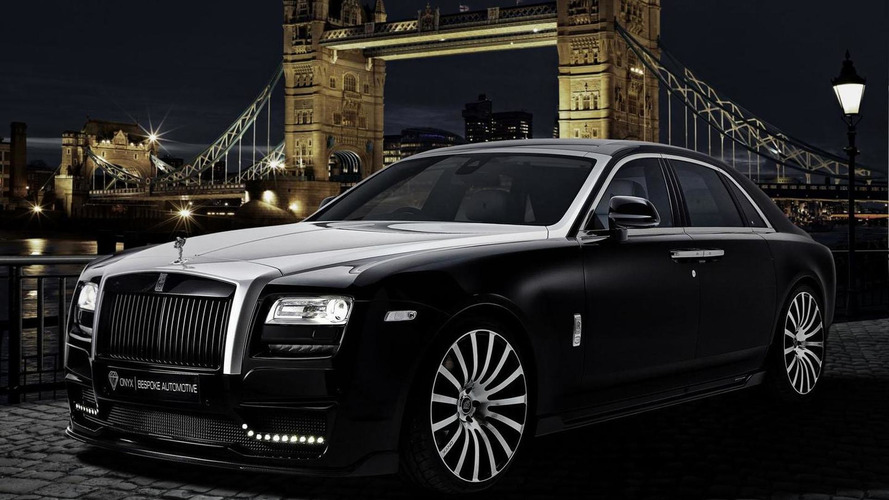 Roll-Royce Ghost San Moritz unveiled by Onyx Concept
