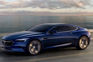 Buick Won't Build The Beautiful Avista Coupe Concept