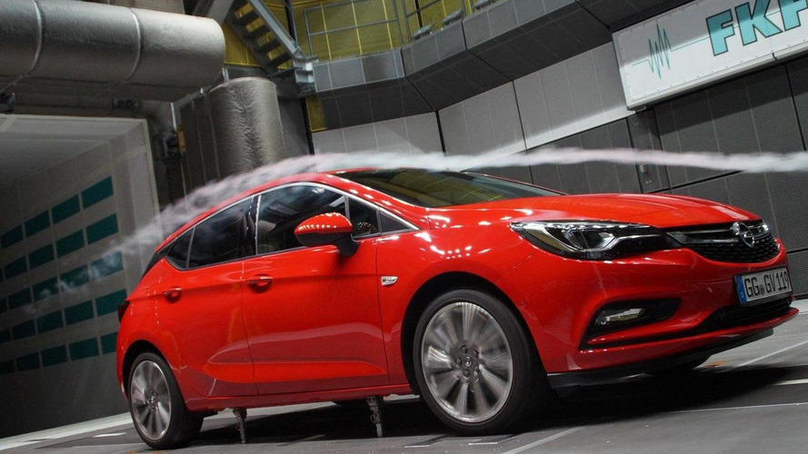 2016 Opel Astra has a drag coefficient of 0.285 [video]