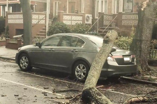 I Am Woman: Hurricane Sandy Unleashes Fury on Unsuspecting Vehicles