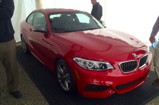 Leaked Photos Reveal All-New BMW 2 Series Coupe