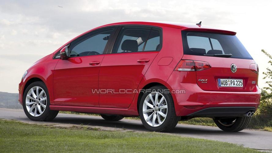 2014 Volkswagen Golf Plus rendered, to be 15cm taller - report
