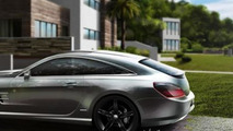 Mercedes-Benz SL Shooting Brake by StudioTorino looks sensational [video]