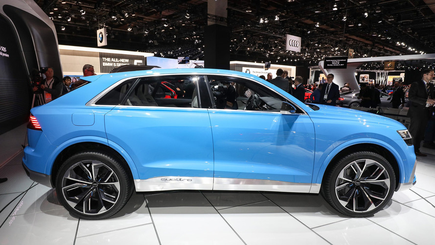 Audi Q8 Concept: Detroit 2017 ...