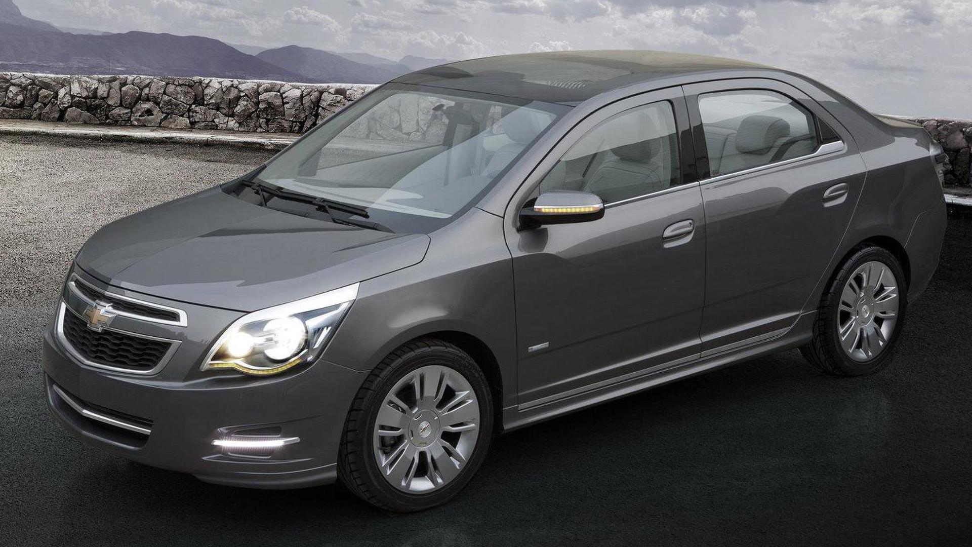 Chevrolet Cobalt Sedan Concept debuts in Buenos Aires