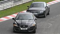 2013 Jaguar XFR-S mule spied 19.08.2011