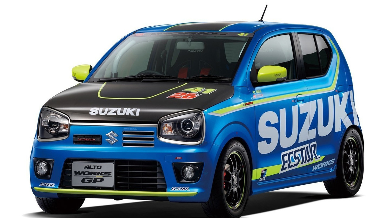 Suzuki Alto Works GP concept