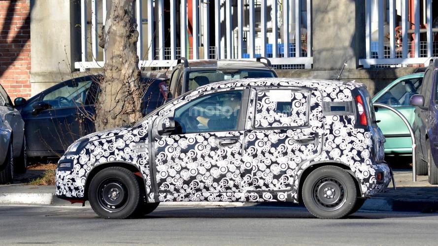 2017 Fiat Panda facelift makes spy photo debut