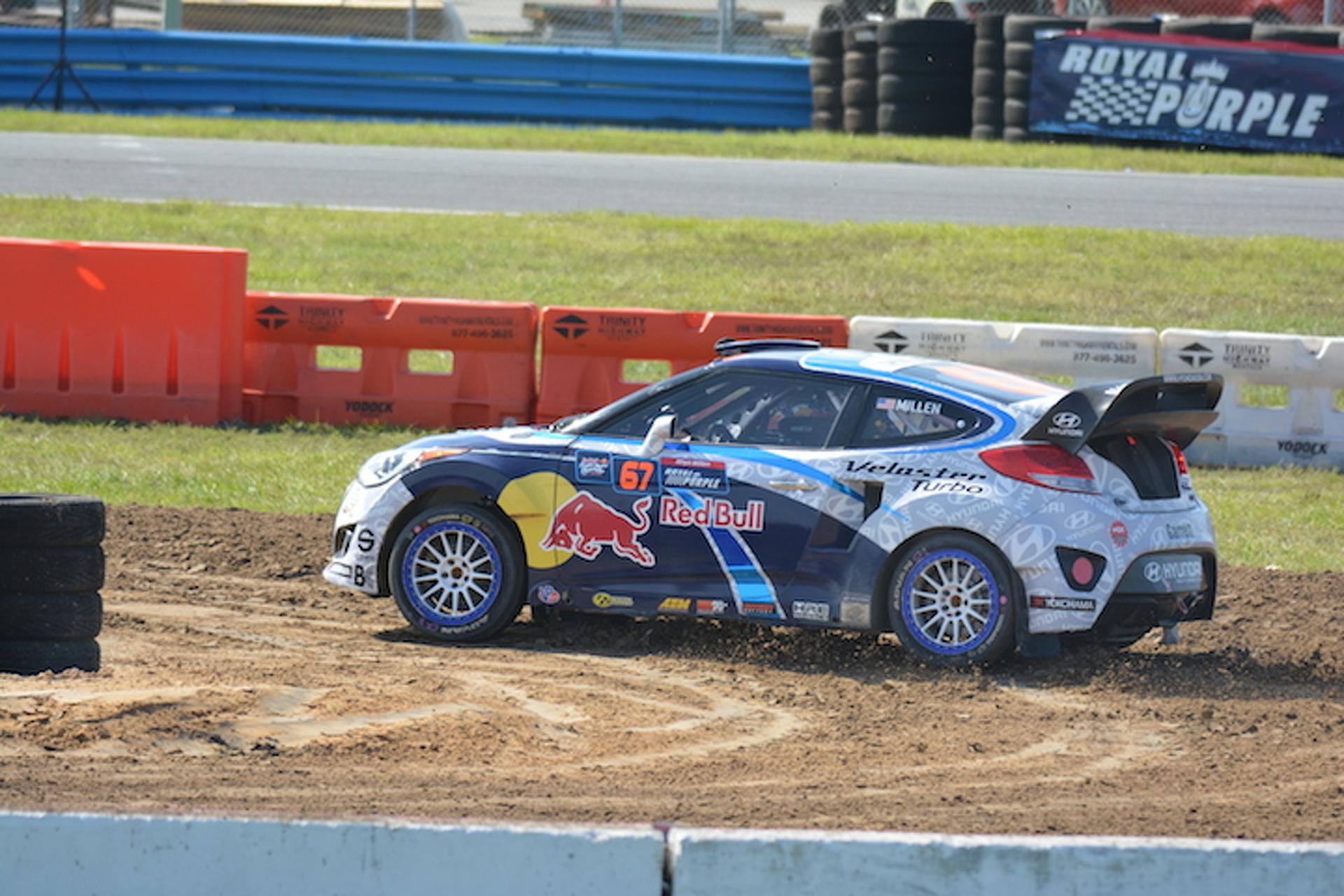 Rhys Millen, Hyundai Let Us Hitch a Rallycross Ride