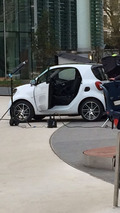 Smart ForTwo, ForFour Brabus spotted undisguised during photo shoot