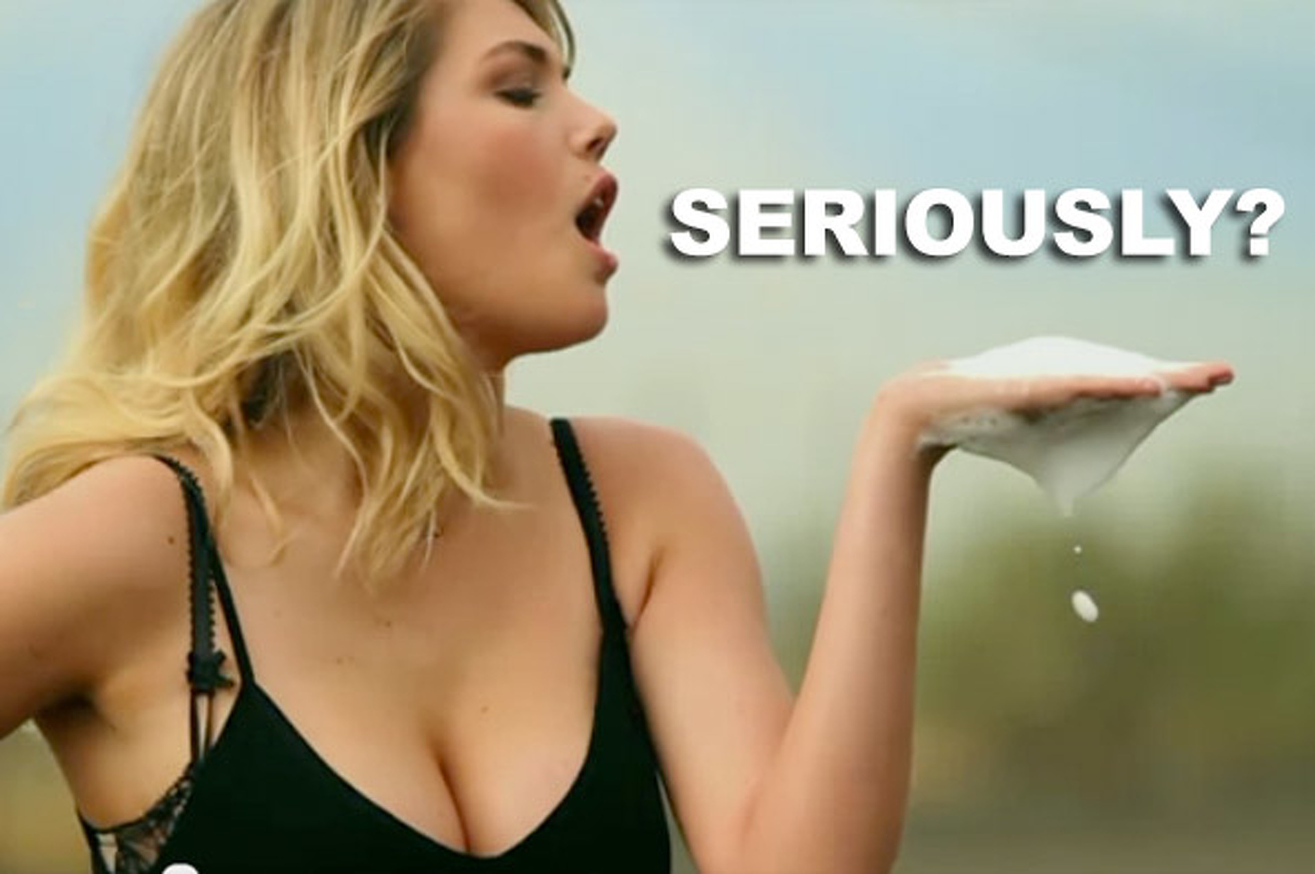 Is this Mercedes-Benz Kate Upton Super Bowl Commercial Desperate?