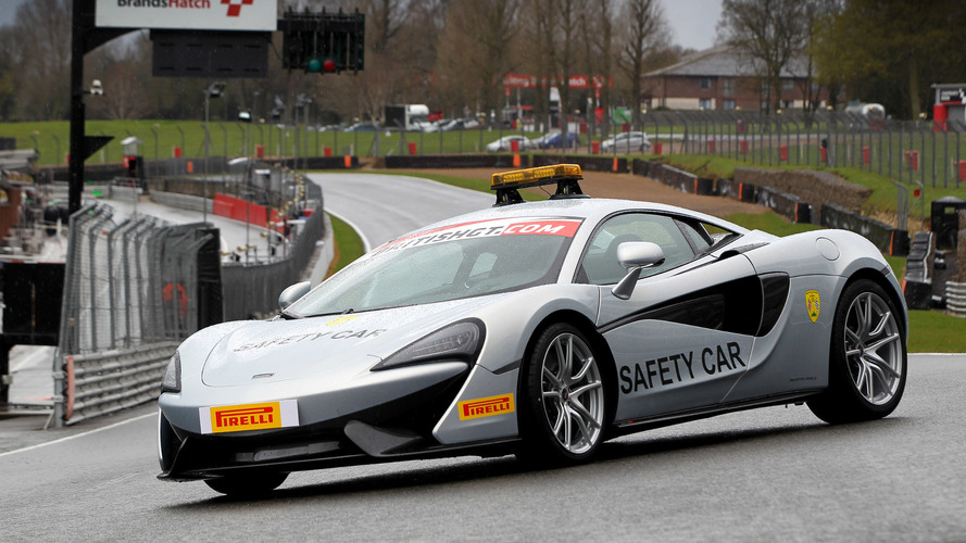 McLaren 570S is the official British GT Championship Safety Car