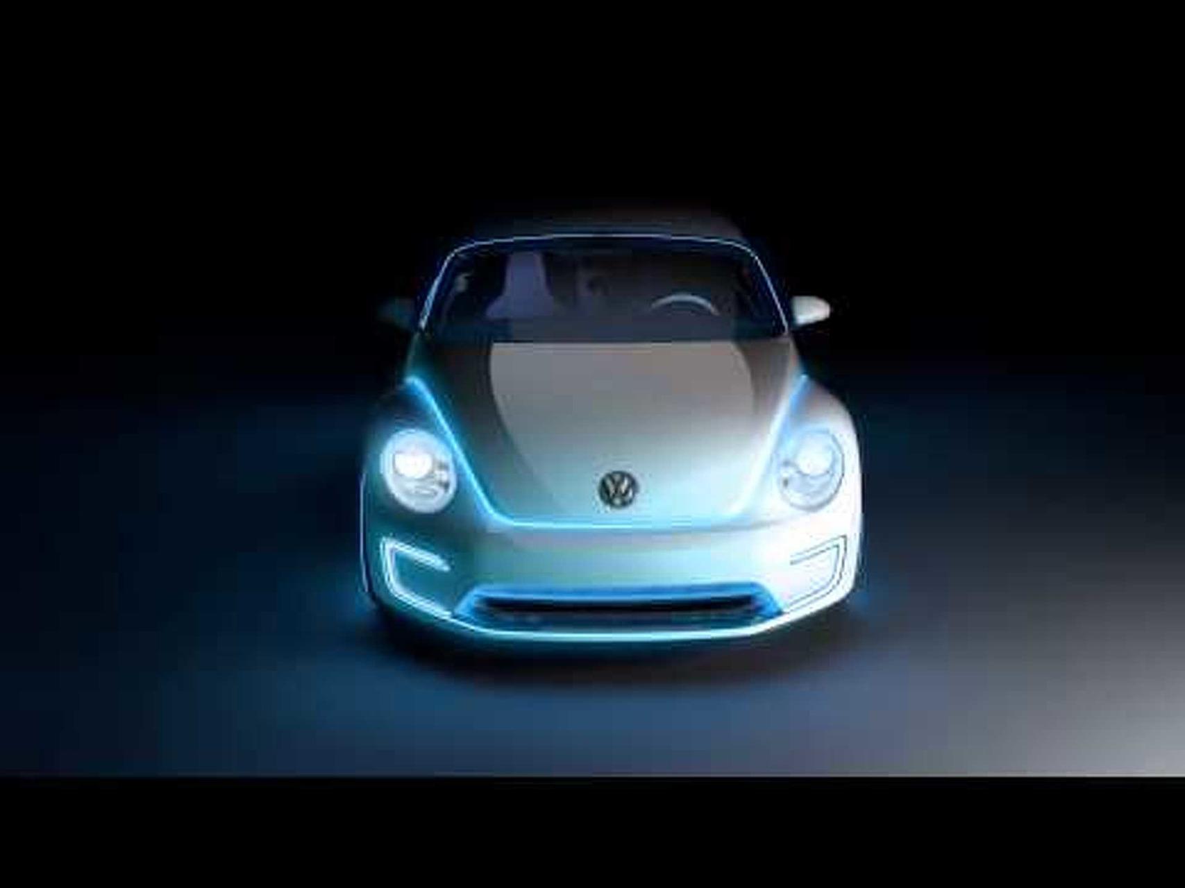 2012 Volkswagen E-Bugster Concept Promo