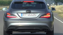 Mercedes-Benz CLA Shooting Brake facelift spied for the first time [video]