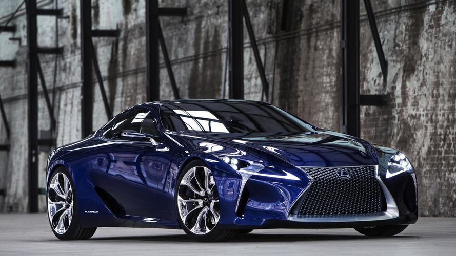 Lexus LF-LC green-lighted for production