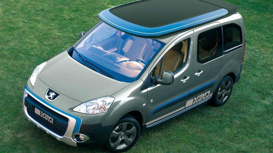 Peugeot Partner 'Urban Activity' vehicle by Irmscher