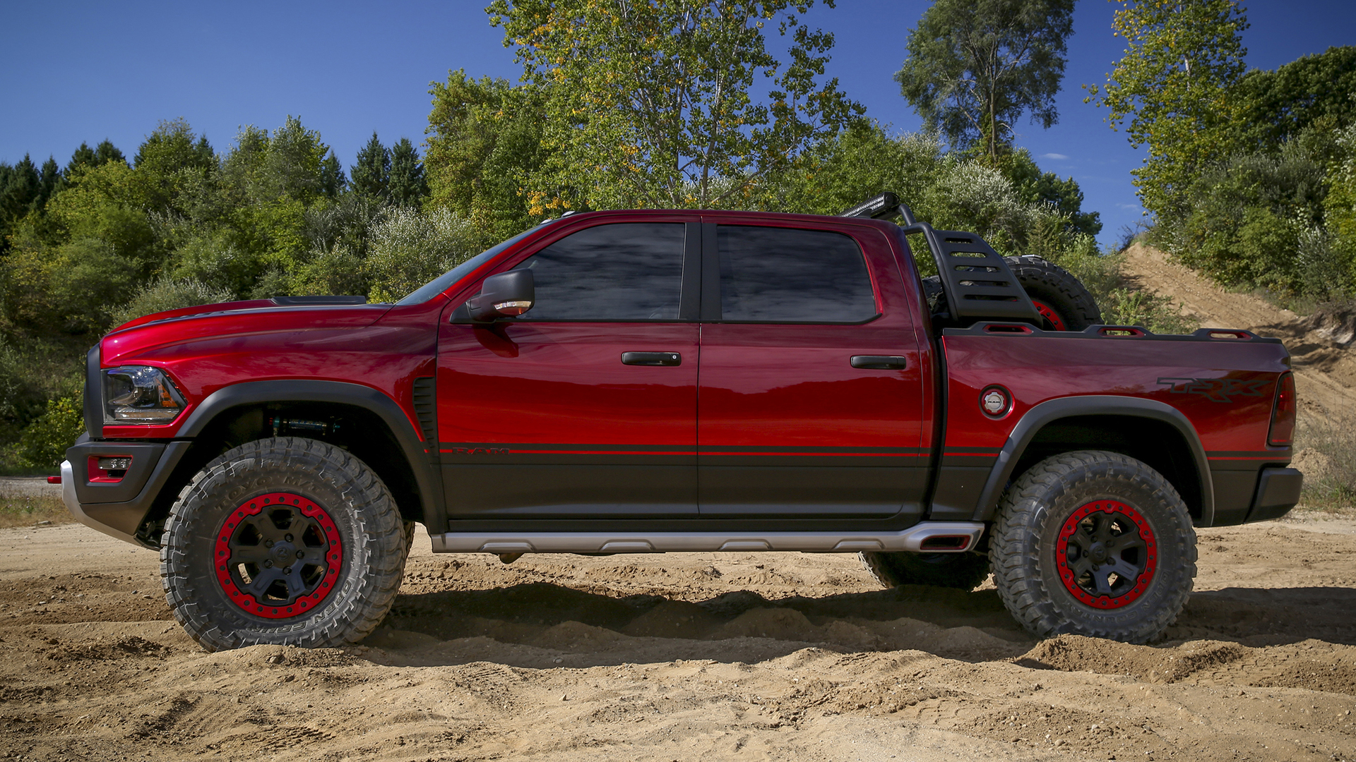 Dodge Ram Trx Concept >> Ram Rebel TRX concept is a 575-hp Raptor fighter