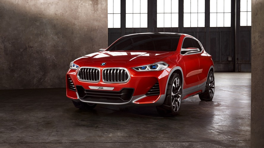 Production BMW X2 SUV will keep its concept looks