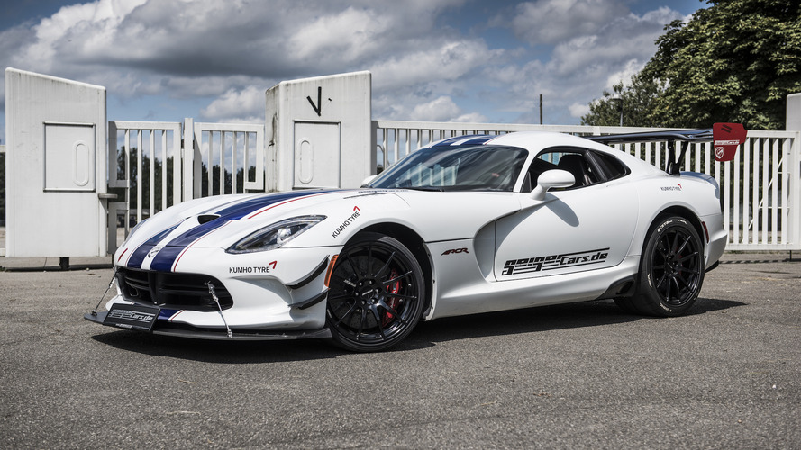 Dodge Viper ACR tuned to 765 horsepower in Germany