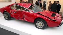 Wrecked Ferrari Dino turns into a 250,000 USD sculpture