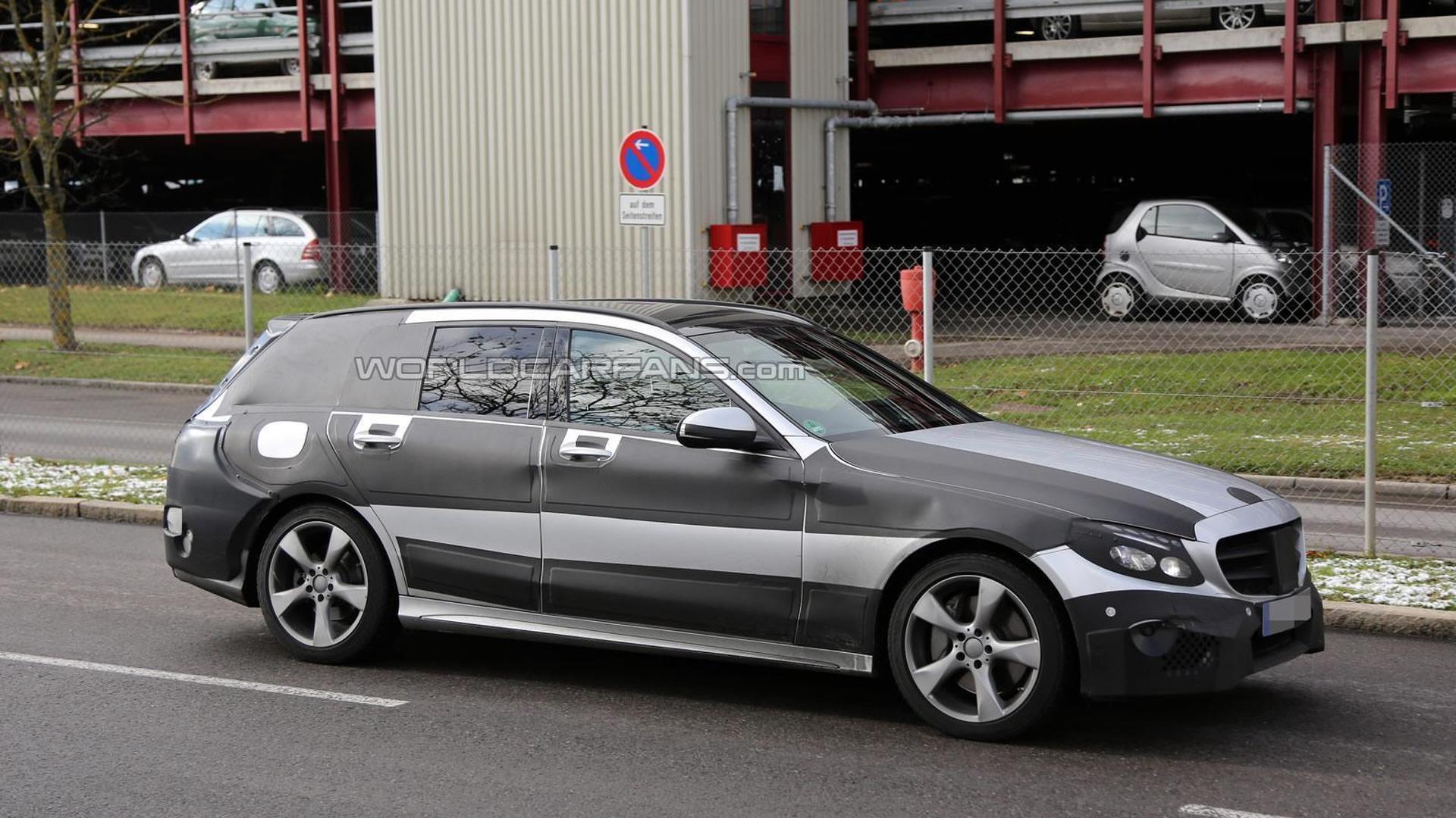 2015 Mercedes-Benz C-Class Estate returns in new spy pics