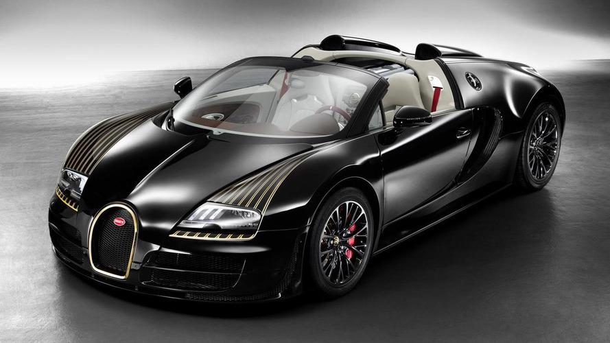 Bugatti introduces Veyron Grand Sport Vitesse Black Bess, debuts in Beijing