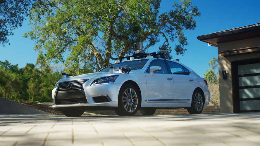 Toyota's new autonomous test vehicle 2.0 is a tricked out Lexus