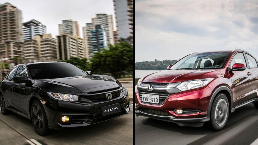 Briga em casa - Honda HR-V EX CVT ou Civic Sport CVT