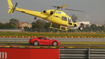 IMAX helicopter filming Ferrari 599