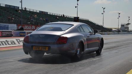 3,000 bhp Bentley Continental GT heading to Santa Pod Raceway for drag racing