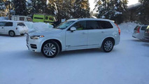 Volvo XC90 photographed in the wild