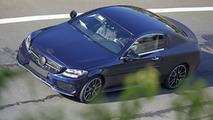 Mercedes C-Class Coupe spy photo