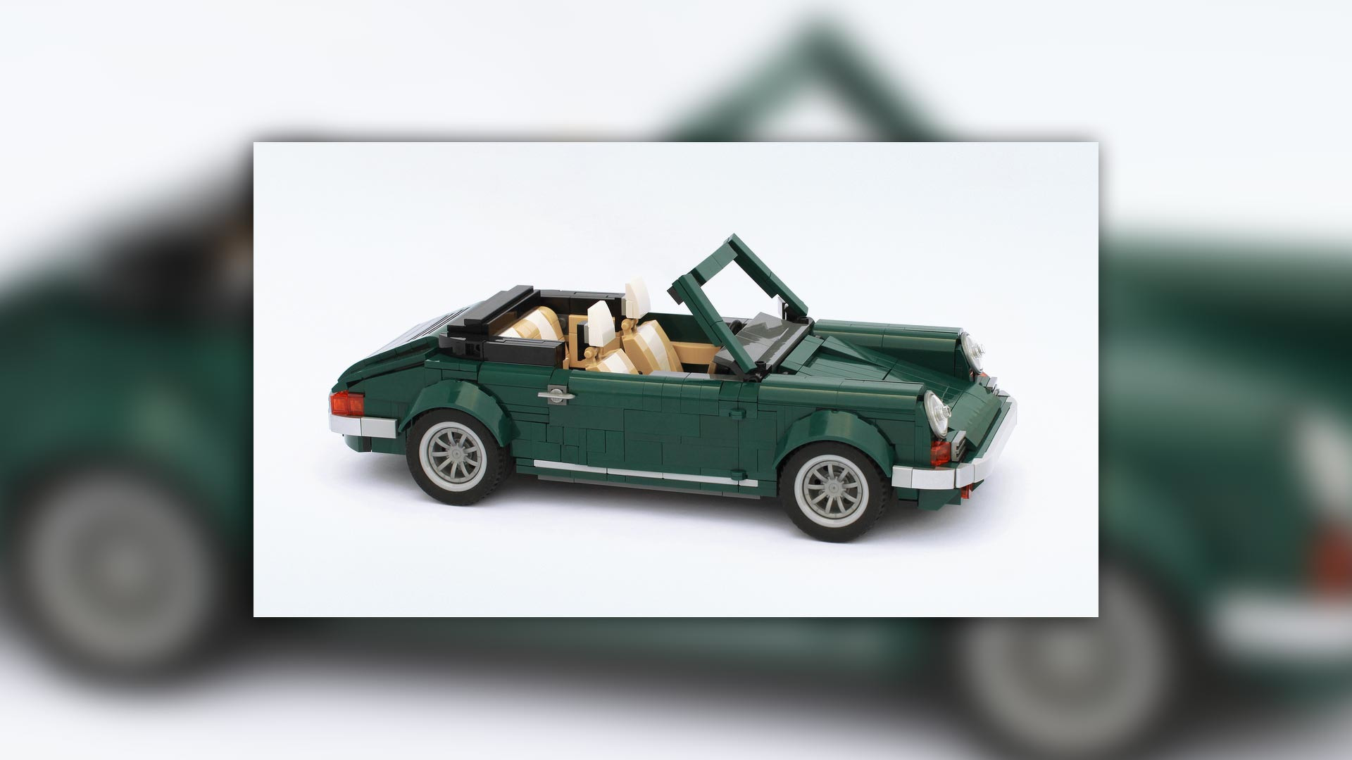 Big Lego Bricks See How A Mini Cooper Lego Kit Spawns A Porsche 911 And