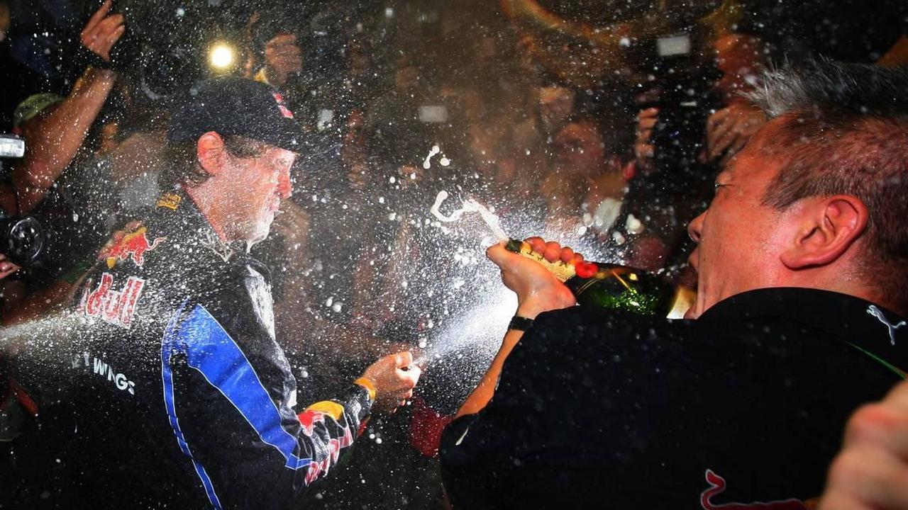 1st place and new world champion Sebastian Vettel (GER), Red Bull Racing - Formula 1 World Championship, Rd 19, Abu Dhabi Grand Prix, 14.11.2010 Abu Dhabi