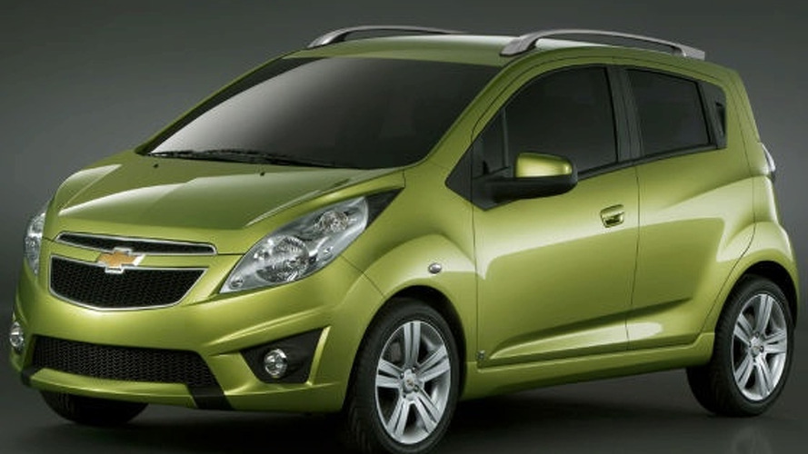 2010 Chevy Spark Photo Leaked - aka Beat Concept
