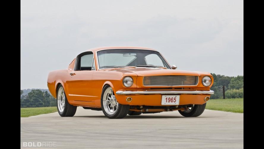 Ford Mustang Restmod - Orange