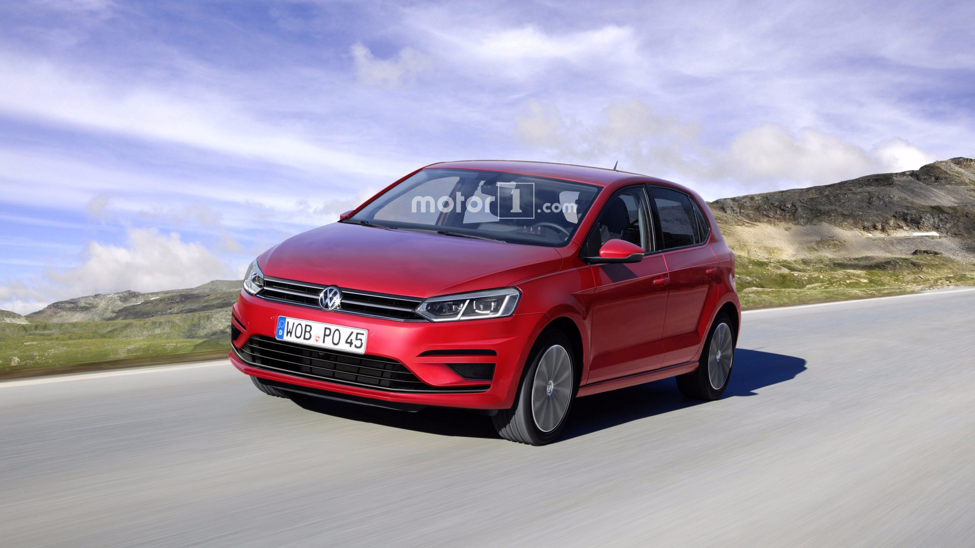 Will The 2018 Vw Polo Will Look Like This Render