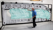 2015 Ford Transit five-row side-curtain airbag