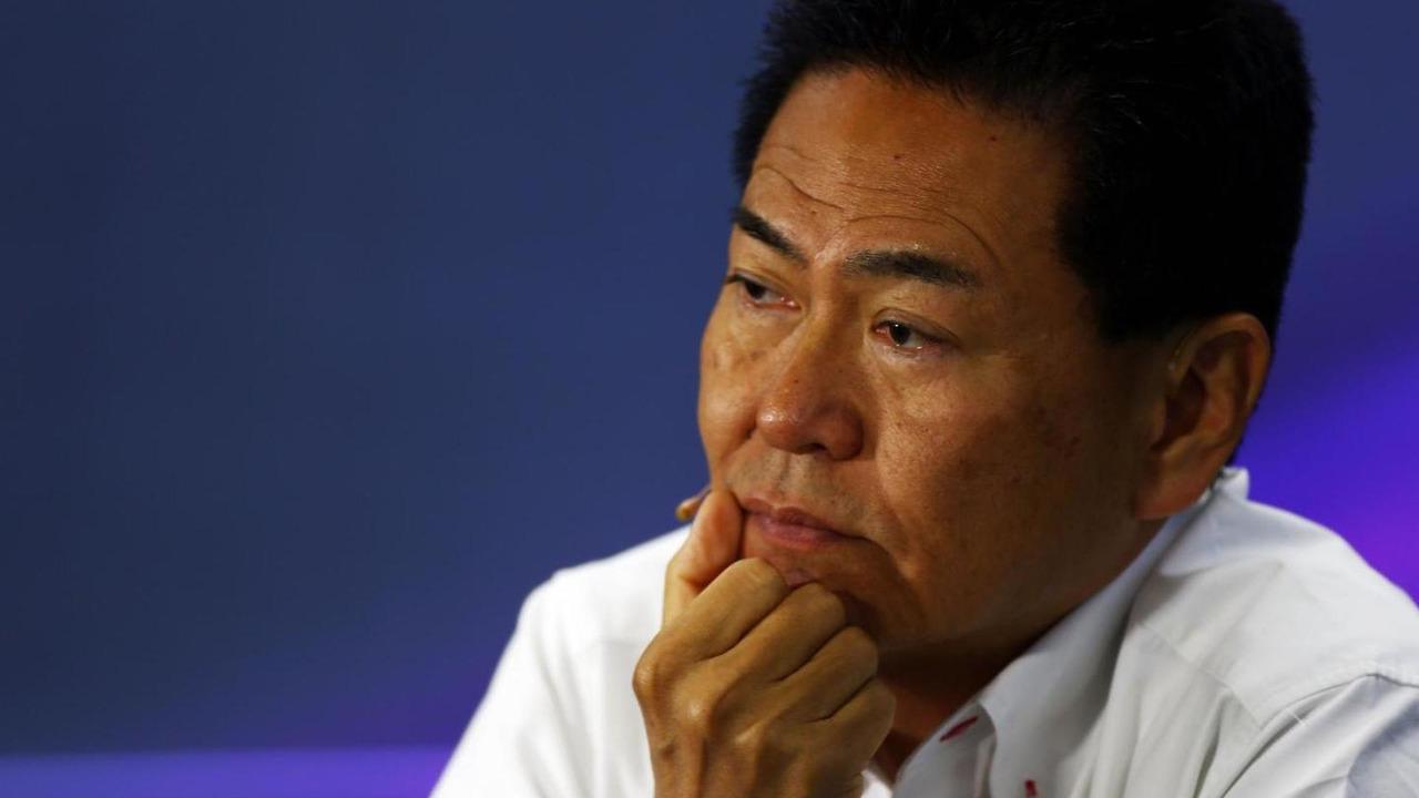 Yasuhisa Arai (JPN), Honda Motorsport Chief Officer in the FIA Press Conference, 18.04.2014, Chinese Grand Prix, Shanghai / XPB