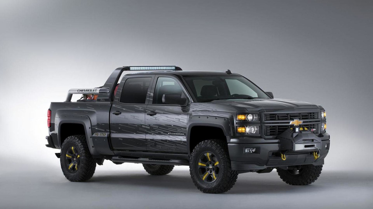 Chevrolet Silverado Black Ops concept 27.9.2013