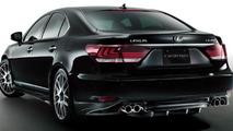 2013 Lexus LS 460 with TRD body kit