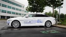 The ultra-low carbon Jaguar XJ_e plug-in hybrid